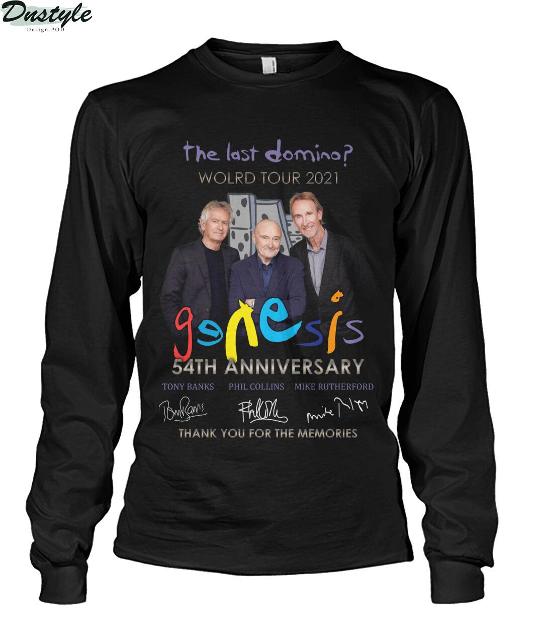 The last domino world tour 2021 Genesis 54th anniversary long sleeve