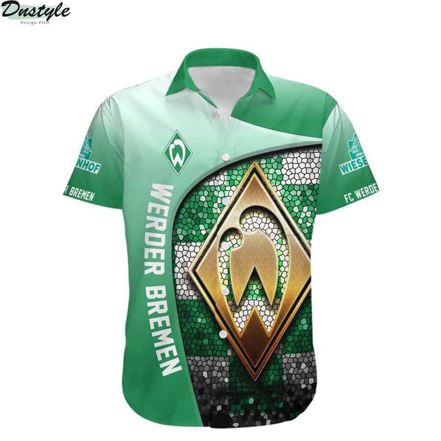 Werder Bremen Die Grün-Weißen hawaiian shirt 1