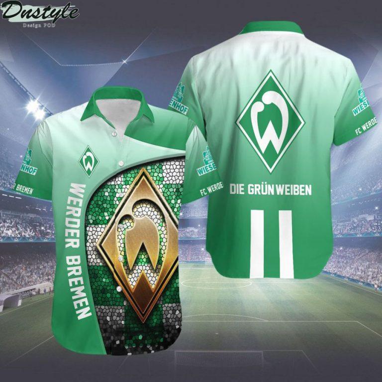 Werder Bremen Die Grün-Weißen hawaiian shirt