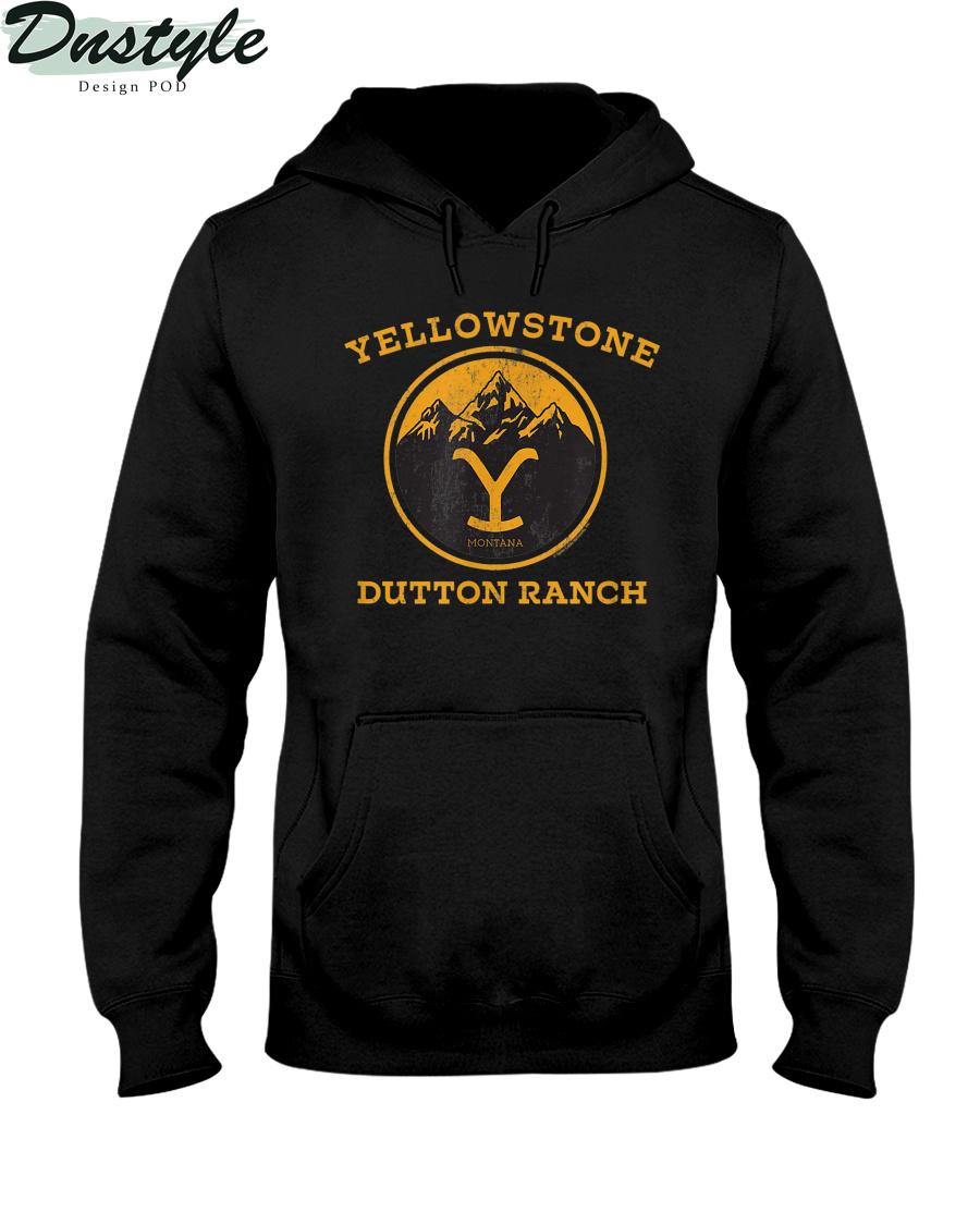 Yellowstone Dutton Ranch 1886 montana hoodie