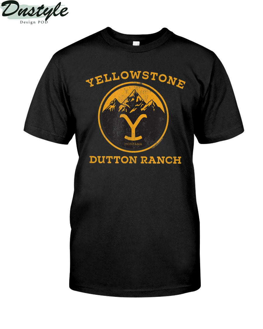 Yellowstone Dutton Ranch 1886 montana shirt