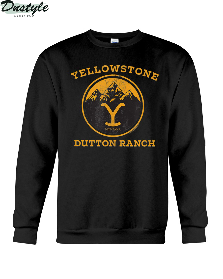 Yellowstone Dutton Ranch 1886 montana sweatshirt