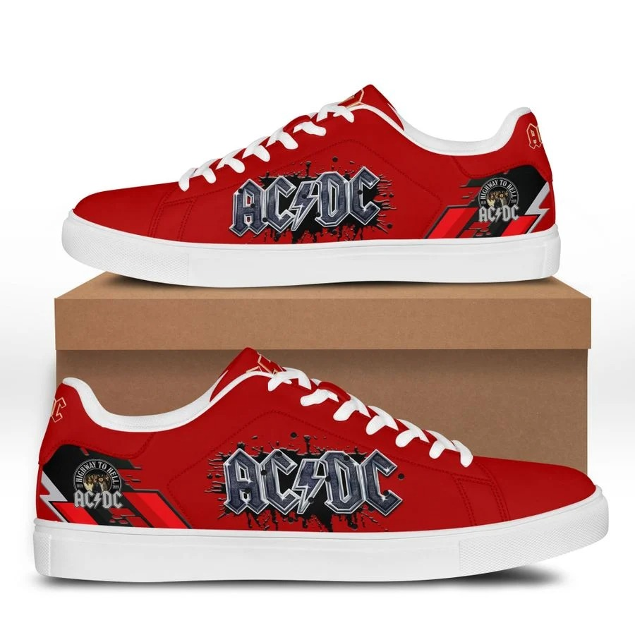 ACDC stan smith low top shoes 1