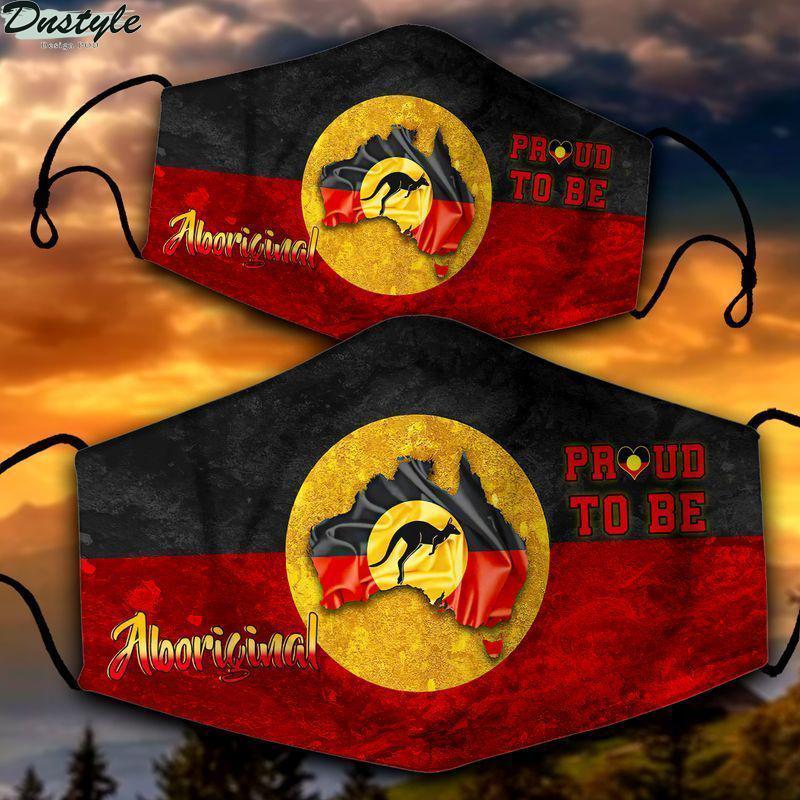 Aboriginal Australia proud to be aboriginal 3d face mask