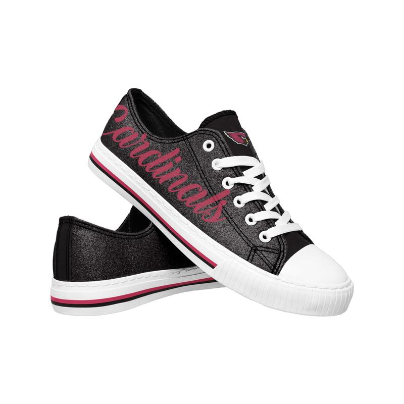 Arizona cardinals NFL low top canvas shoes
