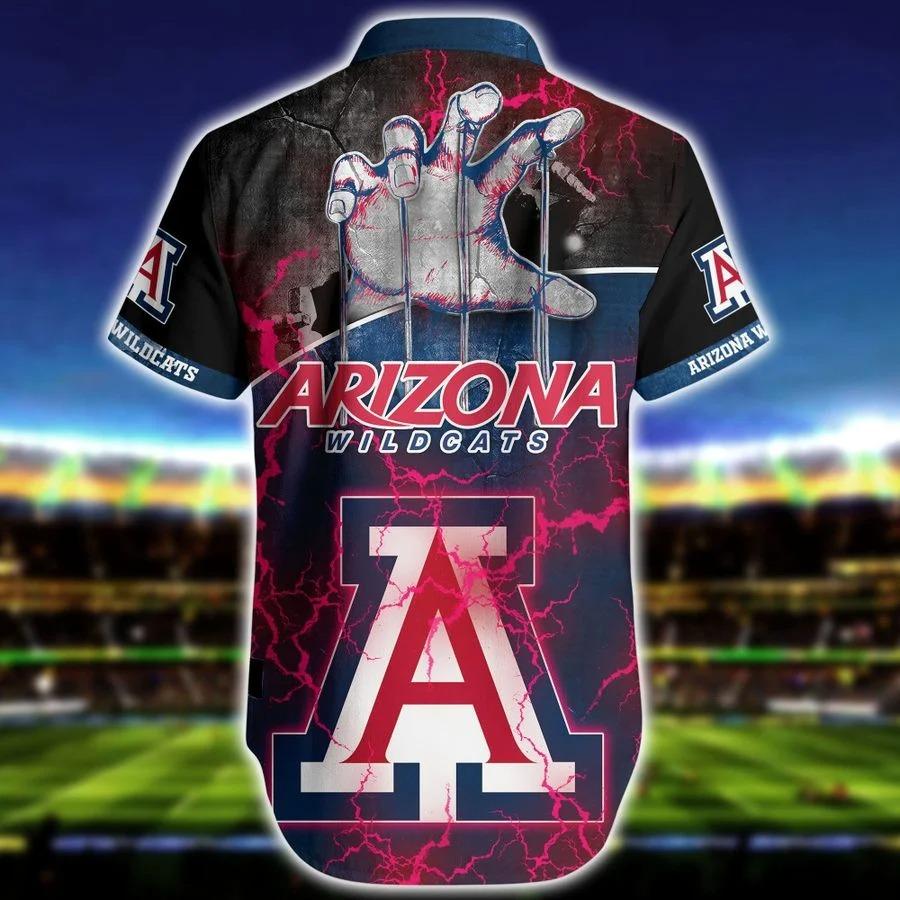 Arizona wildcats NCAA hawaiian shirt 1