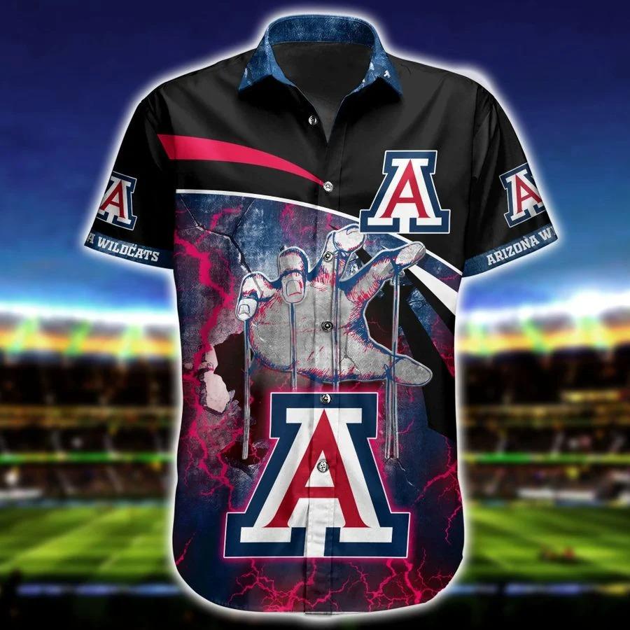 Arizona wildcats NCAA hawaiian shirt