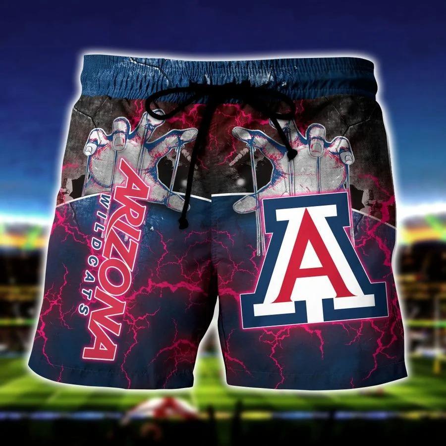Arizona wildcats NCAA hawaiian short