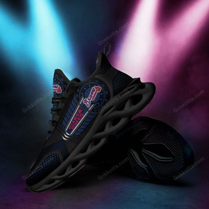 Atlanta braves MLB max soul shoes 1