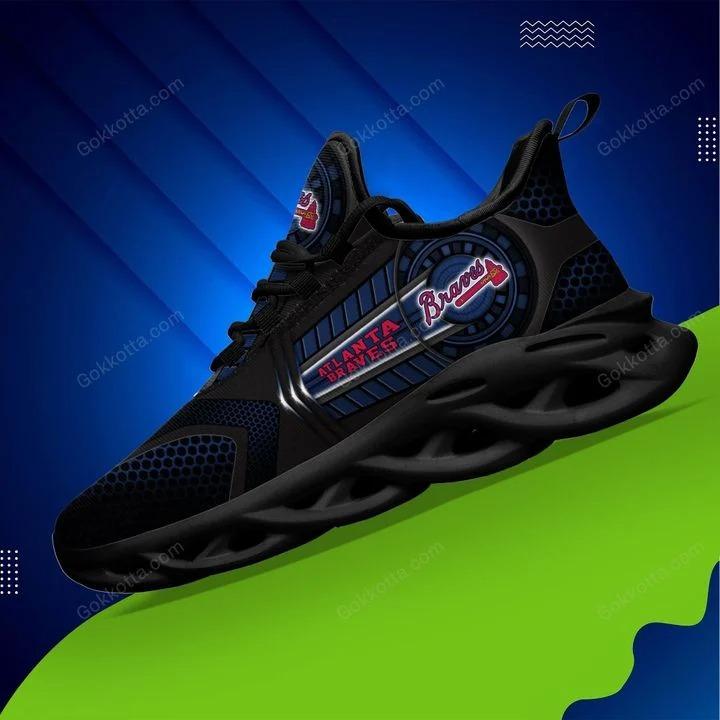 Atlanta braves MLB max soul shoes 3