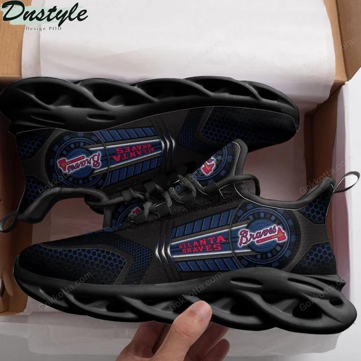 Atlanta braves MLB max soul shoes