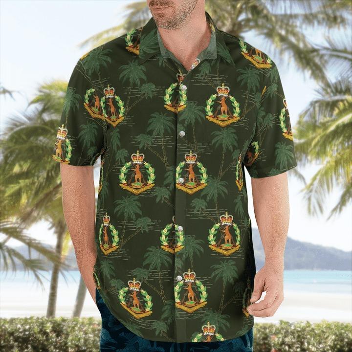 Australian army royal australian regiment hawaiian shirt 1