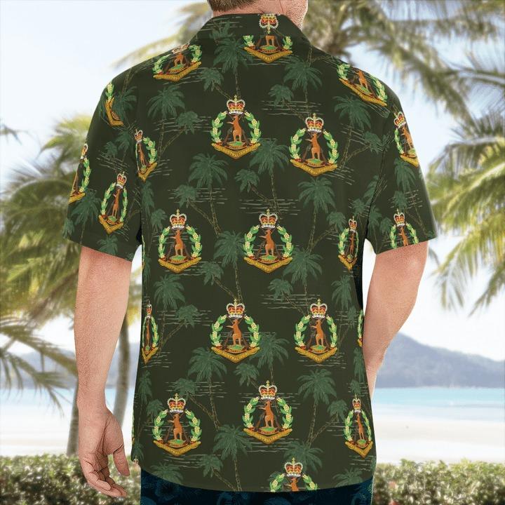 Australian army royal australian regiment hawaiian shirt 2