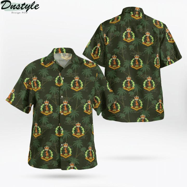 Australian army royal australian regiment hawaiian shirt