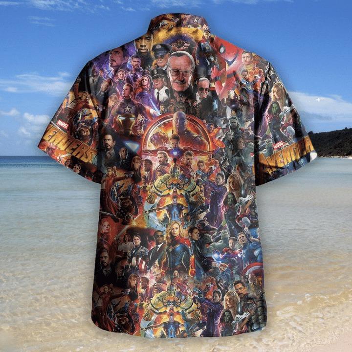 Avenger I love you 3000 unisex hawaiian shirt 1