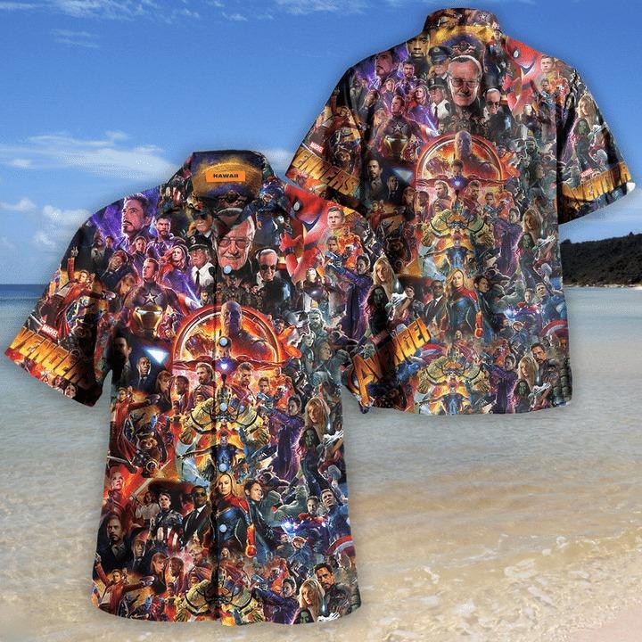 Avenger I love you 3000 unisex hawaiian shirt 2