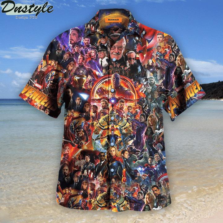 Avenger I love you 3000 unisex hawaiian shirt