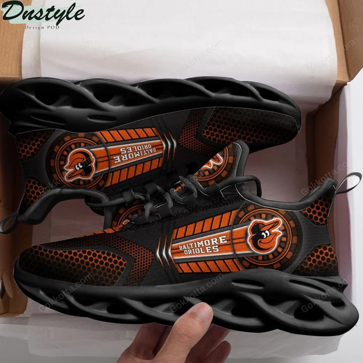 Baltimore orioles MLB max soul shoes