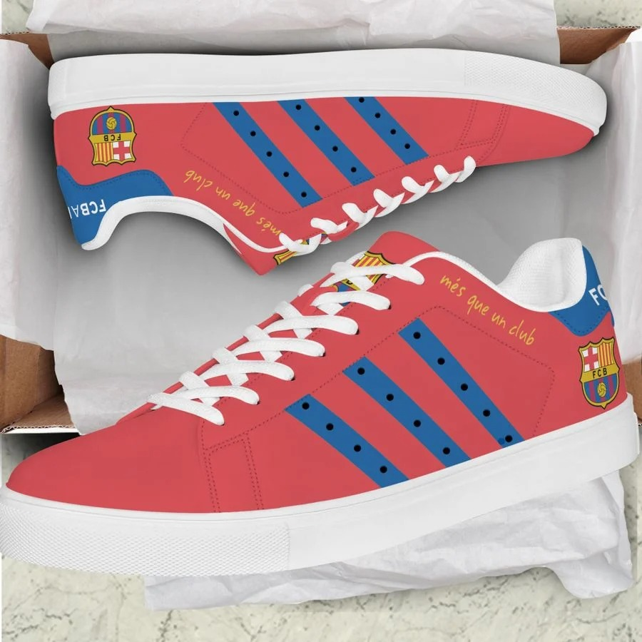 Barcelona stan smith low top shoes 1