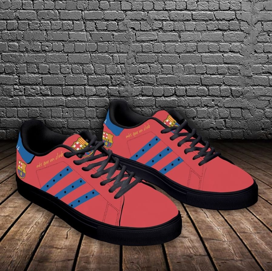 Barcelona stan smith low top shoes 2