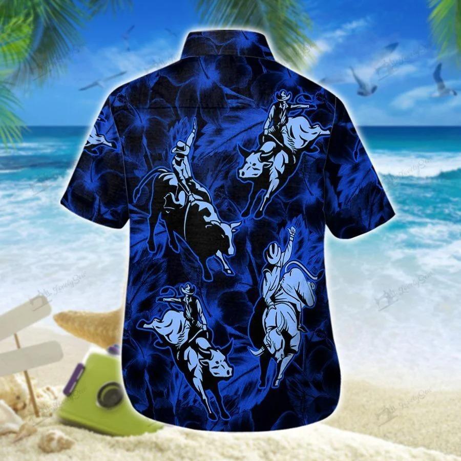 Bull riding hawaii shirt 1