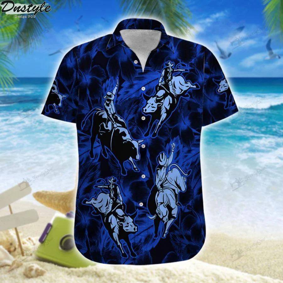 Bull riding hawaii shirtBull riding hawaii shirt