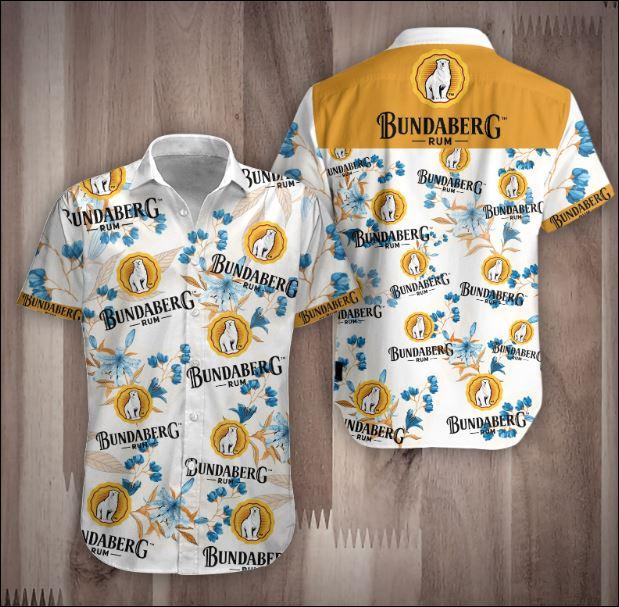 Bundaberg Rum 3D Hawaiian shirt
