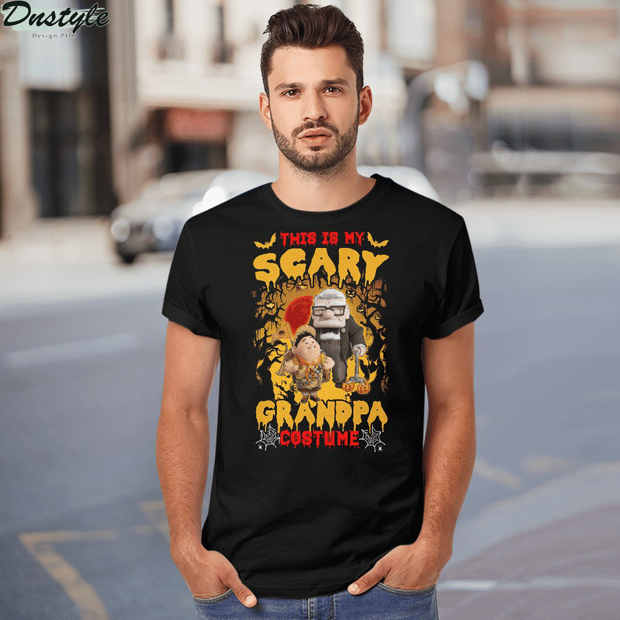 Carl Fredricksen This is my scary grandpa costume shirt 2