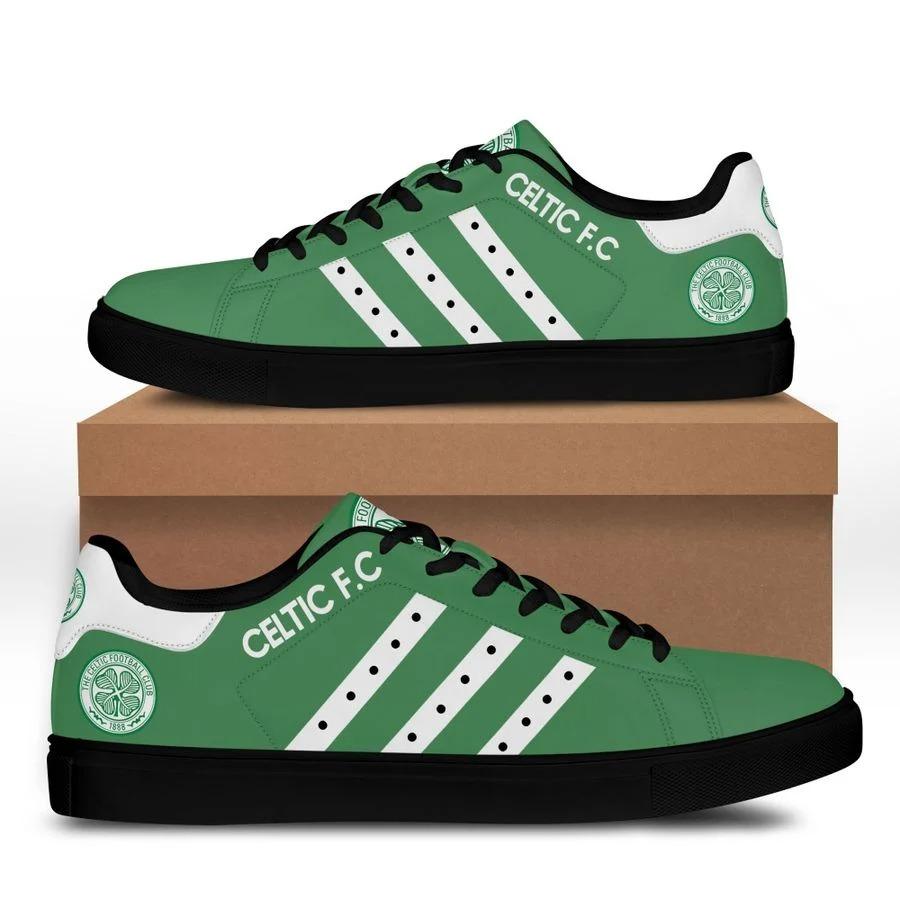 Celtic FC stan smith low top shoes 2