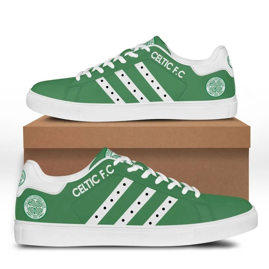 Celtic FC stan smith low top shoes 3