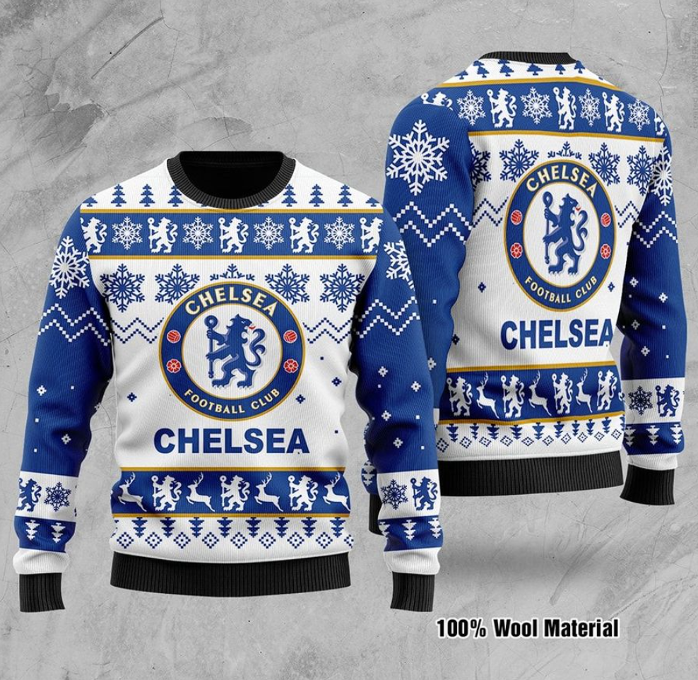 Chelsea FC ugly sweater