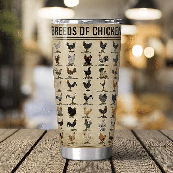 Chicken knowledge breeds of chicken tumbler 1