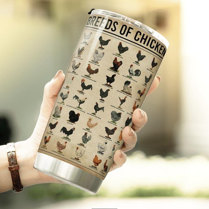 Chicken knowledge breeds of chicken tumbler 2