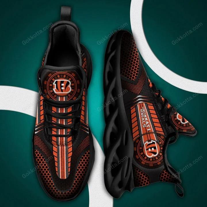 Cincinnati bengals NFL max soul shoes 2