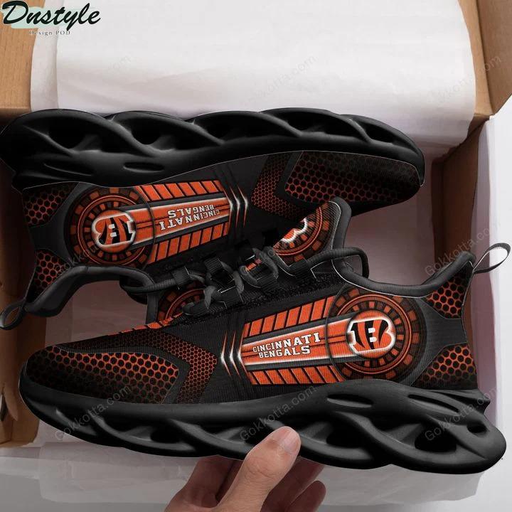 Cincinnati bengals NFL max soul shoes