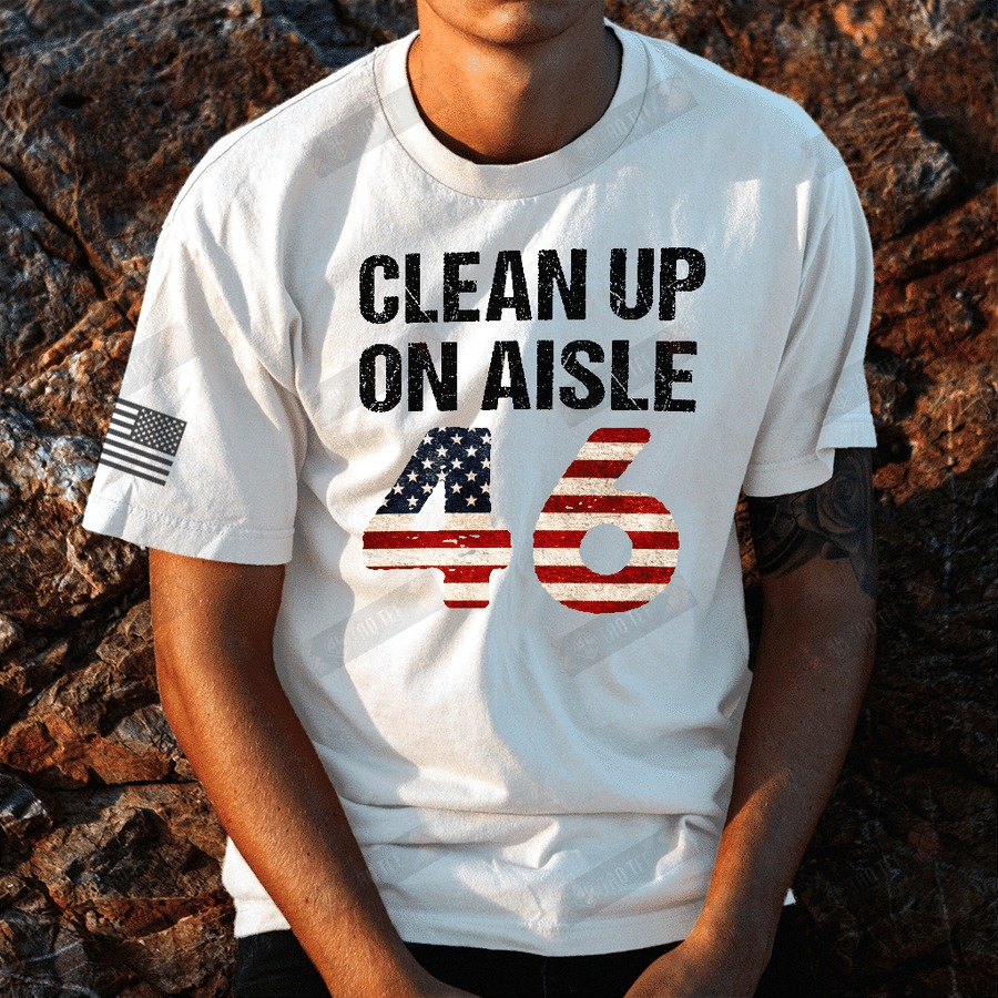 Clean up on aisle 46 shirt 1