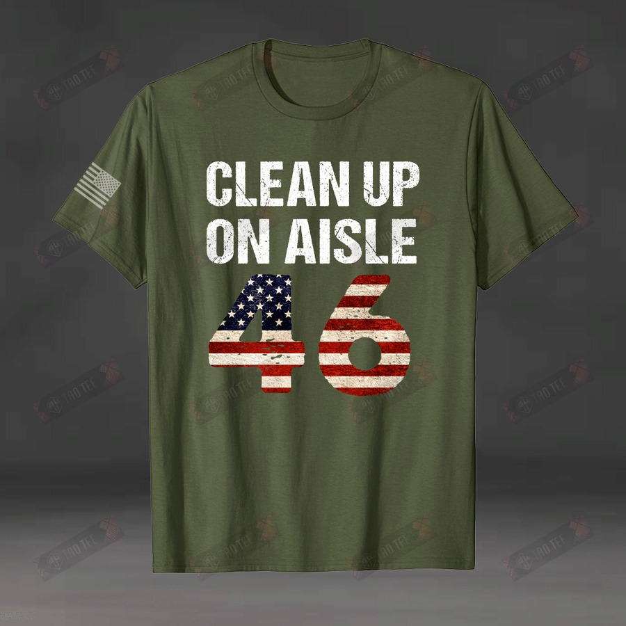 Clean up on aisle 46 shirt 2