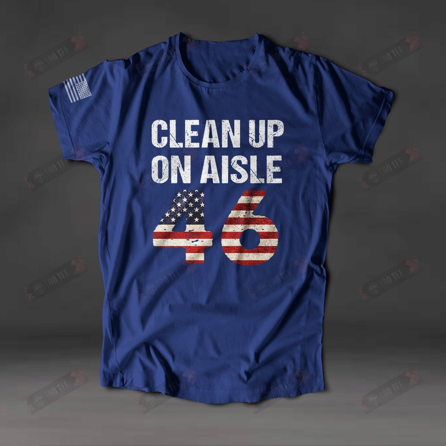 Clean up on aisle 46 shirt 3