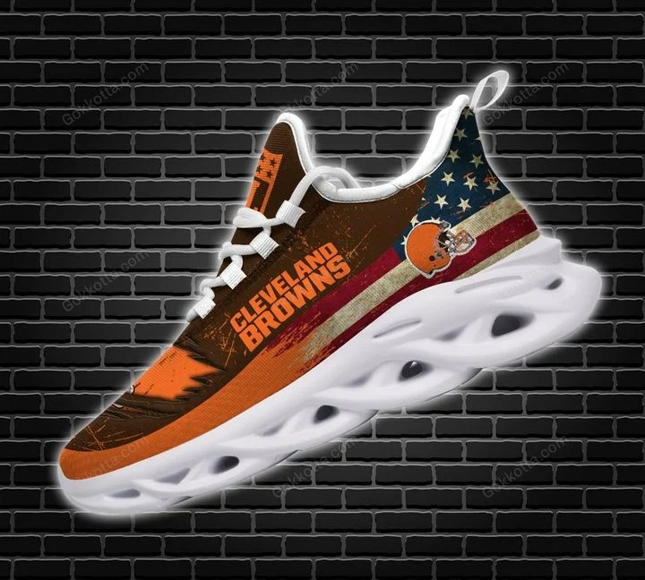 Cleveland browns NFL max soul shoes 1
