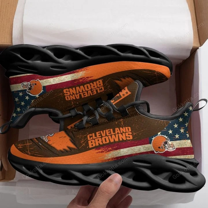 Cleveland browns NFL max soul shoes 3