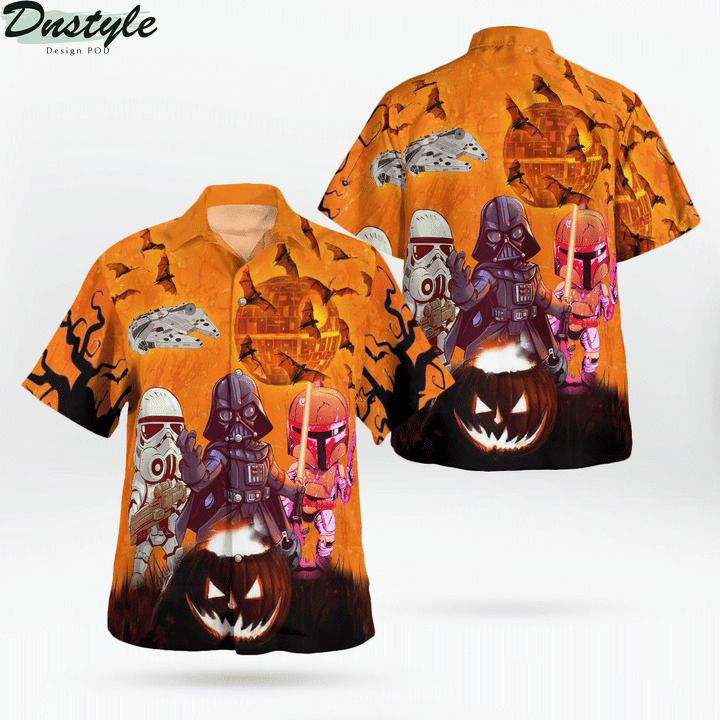 Come to the dark side we have trick or treat hawaiian shirt