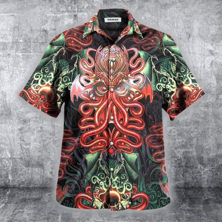 Cthulhu hawaiian shirt 1