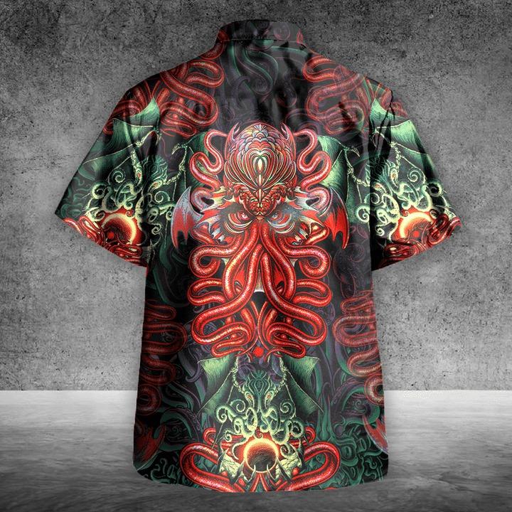 Cthulhu hawaiian shirt 2