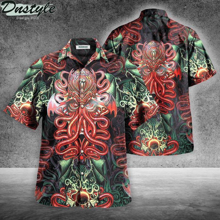 Cthulhu hawaiian shirt
