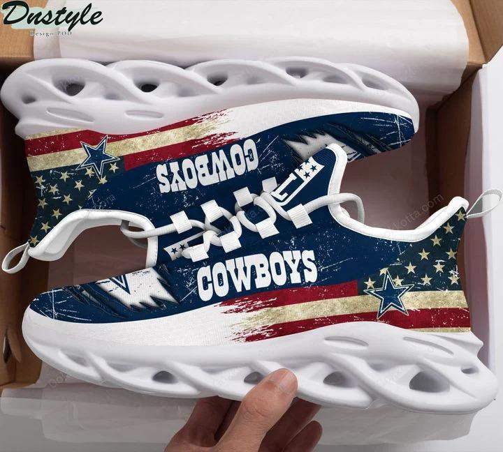 Dallas cowboy NFL max soul shoes 3