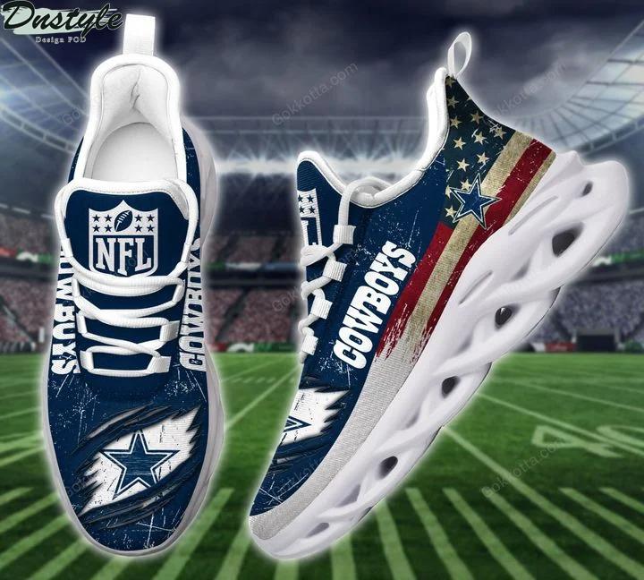Dallas cowboy NFL max soul shoes