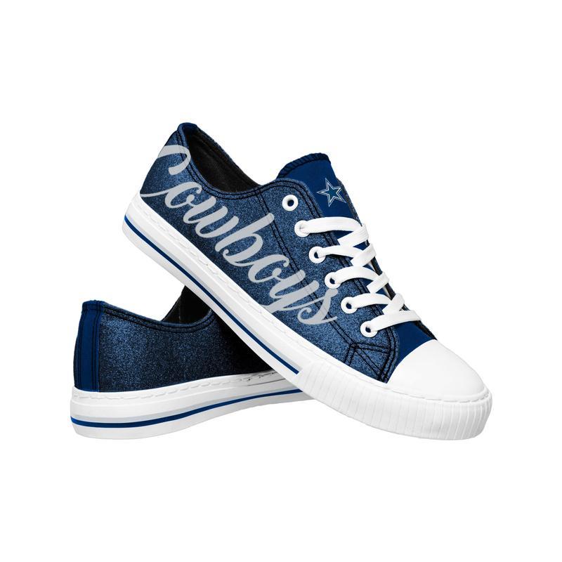Dallas cowboys NFl low top canvas shoes