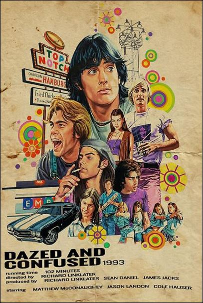 Dazed and confused 1993 poster