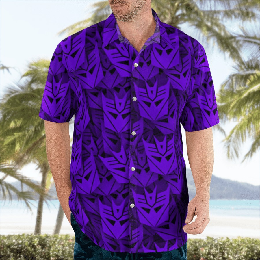 Decepticon transformer hawaiian shirt 1