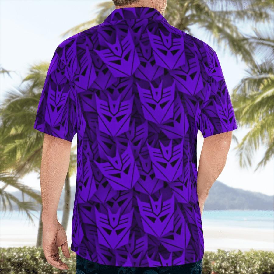 Decepticon transformer hawaiian shirt 2
